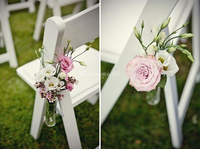 Idées pour décorer les chaises du mariage
