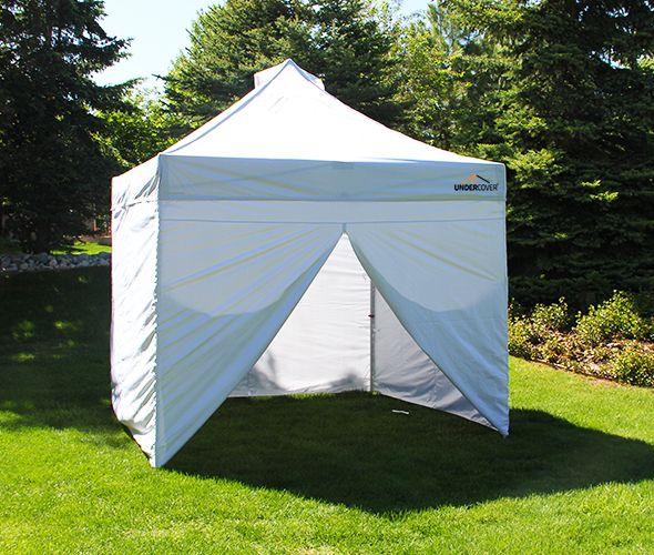 X3 10 X10 Commercial Vending Instant Canopy Popup Shade Wall Enclosure Instant Canopy Canopy Canopy Outdoor