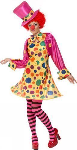 Купить взрослый костюм клоунессы