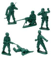 toy soldiers - Flashback to my childhood :P