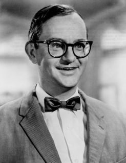 Wallace Maynard Cox (December 6, 1924 – February 15, 1973) was an American comedian and actor, particularly associated with the early years of television in the United States. He appeared in the U.S. television series Mr. Peepers (1952–1955), plus several other popular shows, and as a character actor in over 20 films.