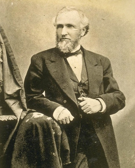 Henry H. Haight, Governor of California who signed law ceding Outside Lands/GG Park to San Francisco County