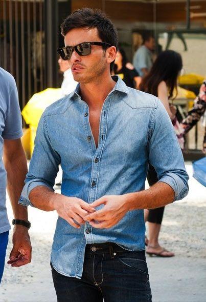 Camisa jeans é tuuuuuuuuuudo