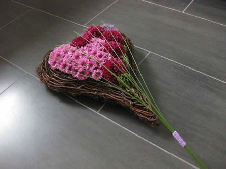Heartwarming flower arrangement - mourning arrangement