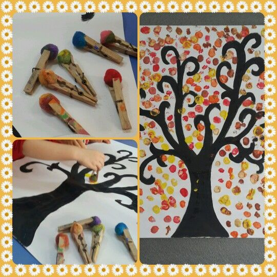 Autmn art activities. Sonbahar sanat etkinligi