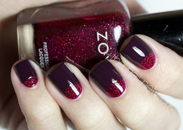 15 Half Moon Nail Designs To Draw Inspiration From