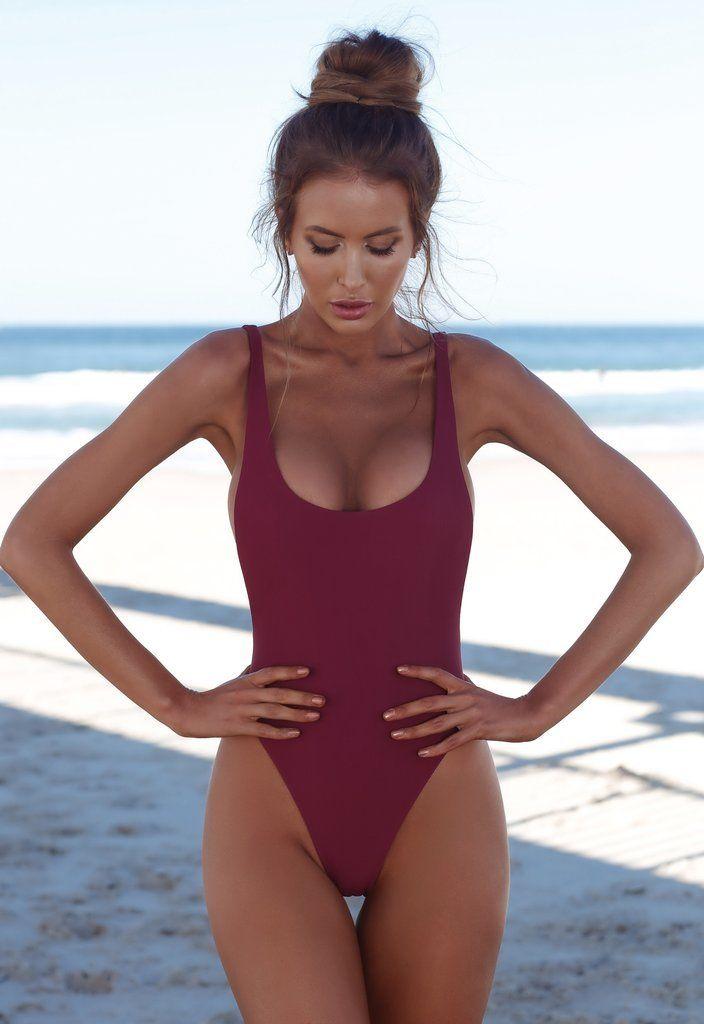 b86c42f0dca 2018 Sexy One Piece Monokini Women High Cut Swimwear Backless Shape ...