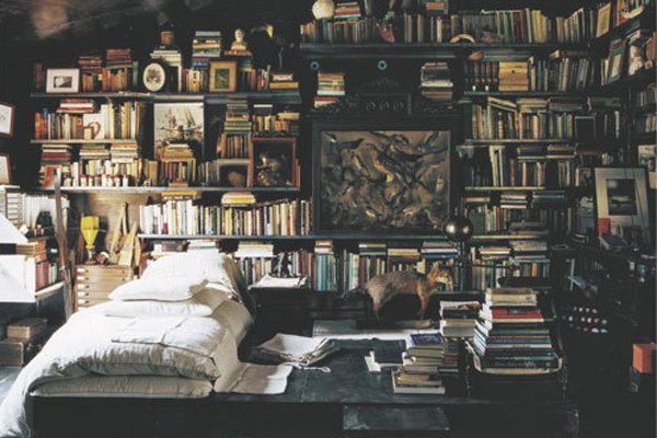 : Libraries, Books, Interior, Idea, Dream Room, Bedrooms, House, Space, Place