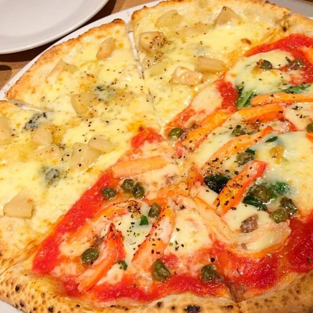 しゅもーね手作り! - 13件のもぐもぐ - 洋梨とゴルゴンゾーラ、ズワイガニ by PizzaSyumone
