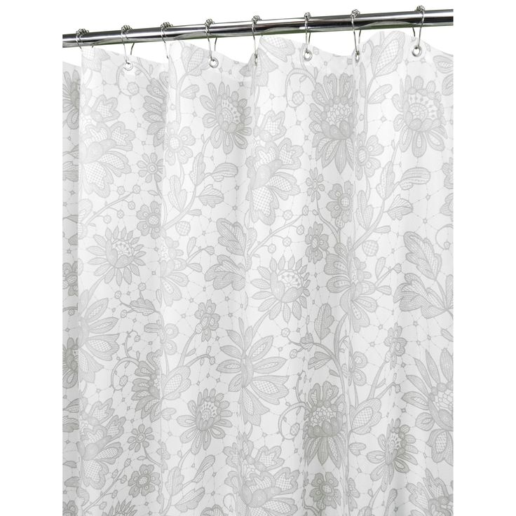 Watershed Floral Lace Shower Curtain | from hayneedle.com