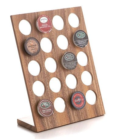 K-Cup Stand-Up Holder - that's kind of cool.