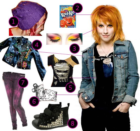 15 best images about Hayley Williams style on Pinterest   Dr martens Alien crop top and ...