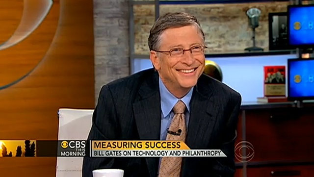 Bill Gates Interview on Tech and Philanthropy