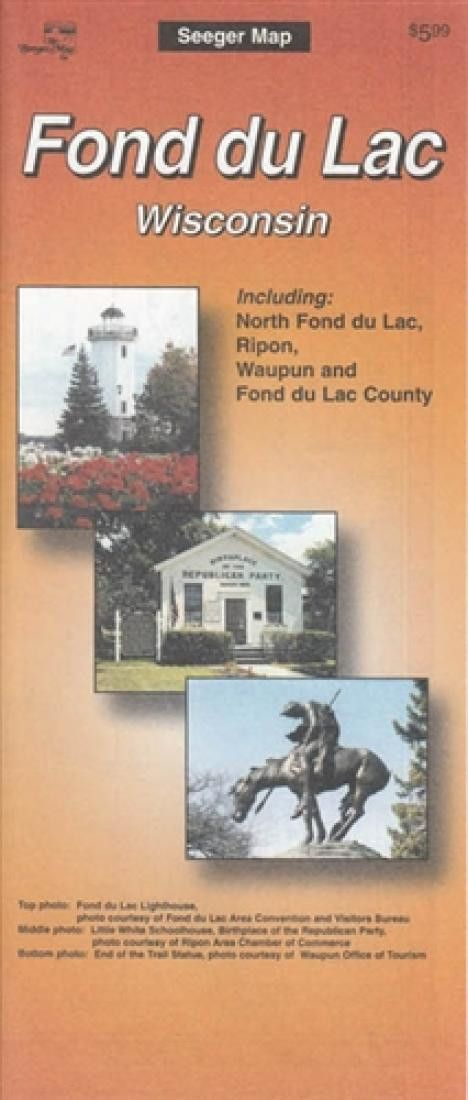 Fond du Lac, Wisconsin by The Seeger Map Company Inc.