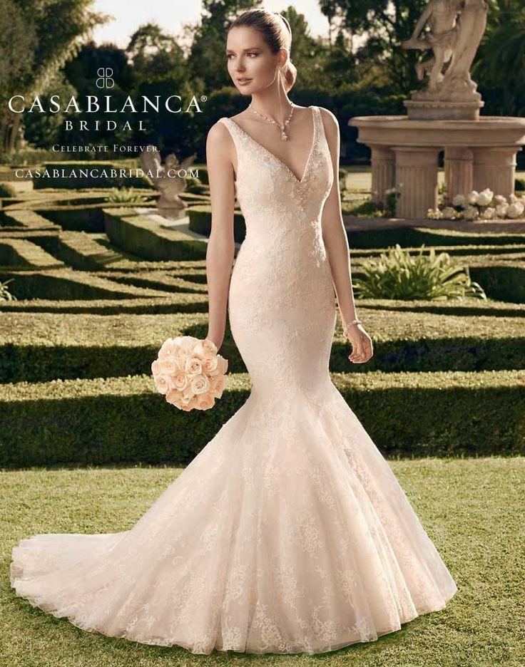 37 best Mermaid Gowns images on Pinterest   Bridal dresses, Wedding ...