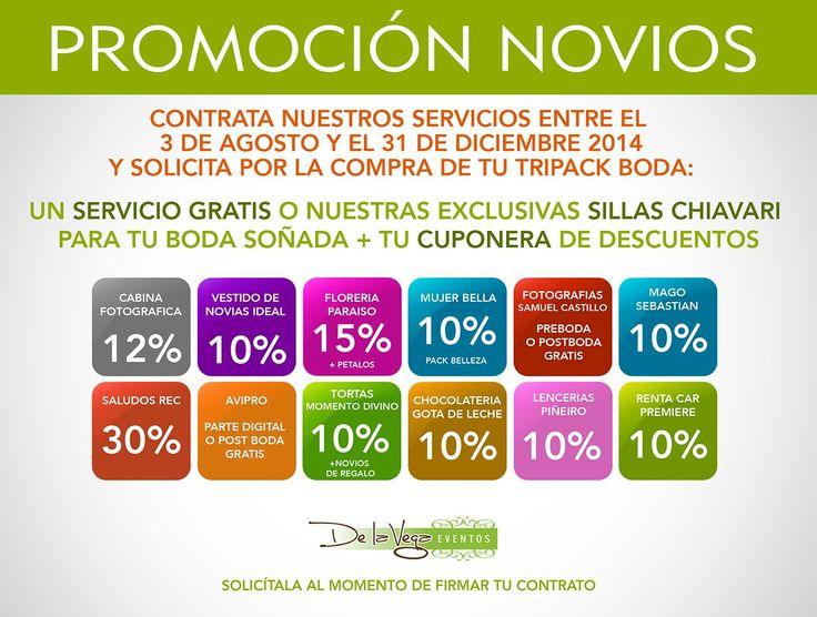 www.eventosdelavega.cl  premia tu preferencia.