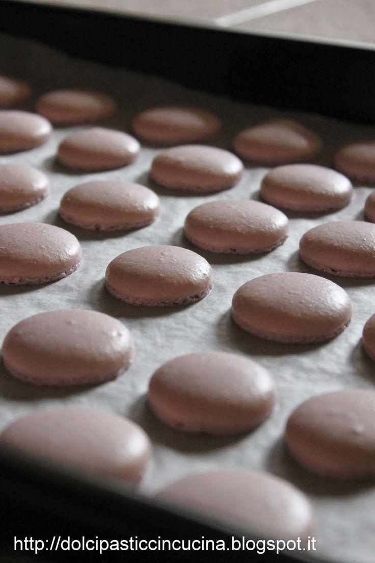 macarons ricetta passo passo