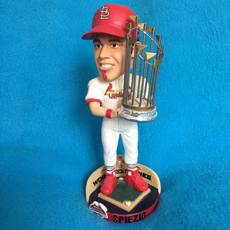 Scott Spiezio St. Louis Cardinals 2006 World Series Bobblehead Limited Rare #StLouisCardinals