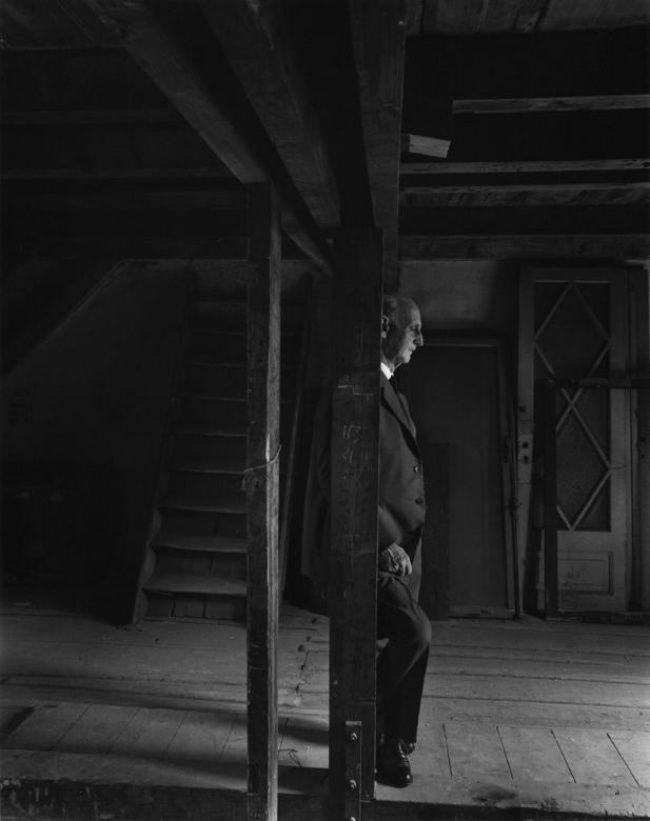 Ojciec Anny Frank Otto Frank, 1960, A.Newman