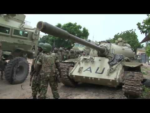 AMISOM Frontline: Taking Mogadishu - The AMISOM Frontline series tells the story of African Union troops as they undertake a stabilization mission in Somalia. These films depict the range of challenges faced by the AMISOM soldiers on a daily basis, and covey the message that this mission is a much more diverse undertaking than many understand it to be.