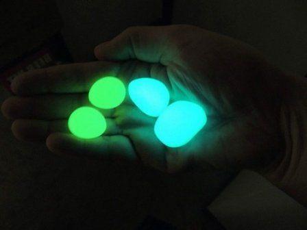 Декоративные светящиеся камни своими руками  #светящиеся_камни #своими_руками #декор