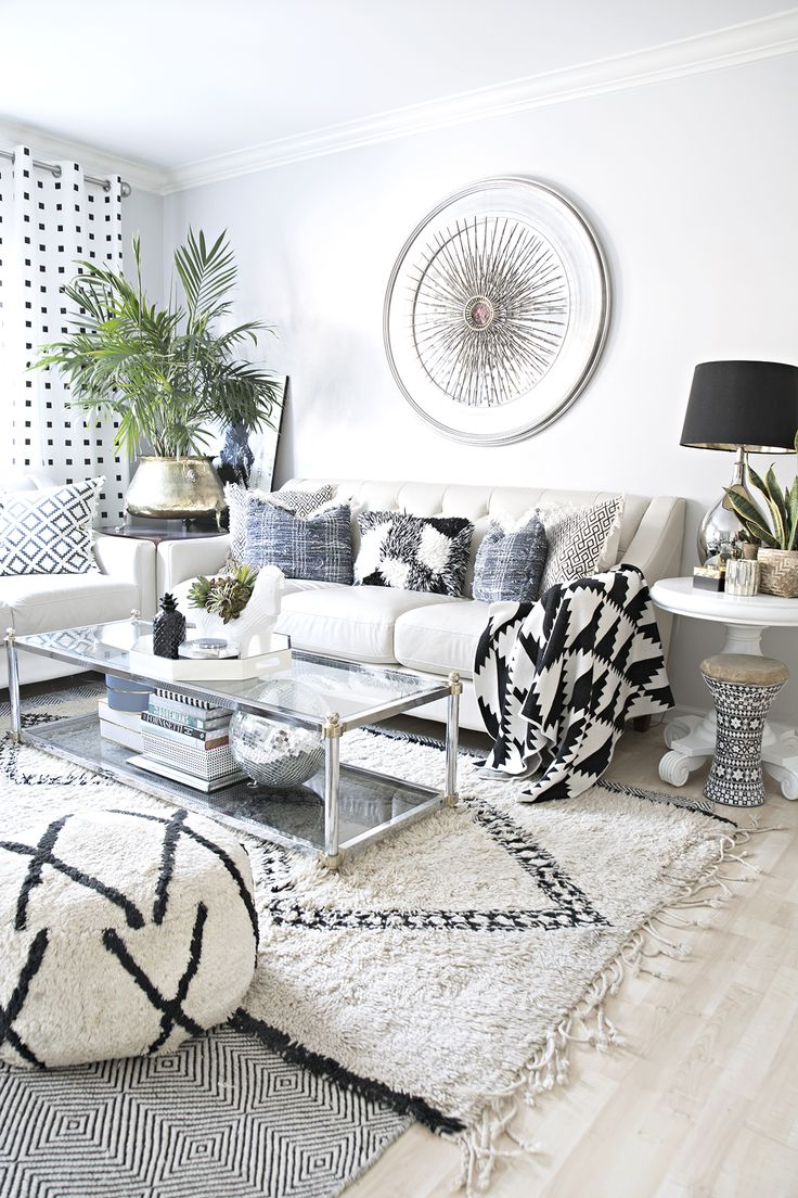 Small Visual Interior Home Changes With A Big Impact Neutral Living Roomseclectic Living Roomeclectic Decormodern