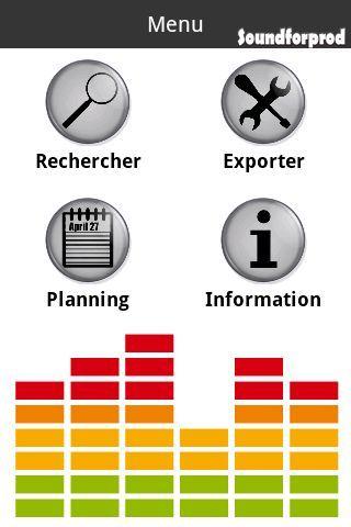SOUNDFORPROD est le 1er catalogue en ligne de musiques à l'image, classé par instruments et directement accessible depuis votre Android.Cette application a été conçue pour, VOUS, Monteurs TV, RADIO, ou CINEMA, afin de vous faire gagner un temps précieux.<br/><br/>Grâce à ce nouvel outil, vous vous connectez à notre catalogue de musiques en ligne, depuis votre Android, soit pour écouter notre collection, soit pour programmer vos montages.<br/><br/>Notre catalogue en ligne vous permet…