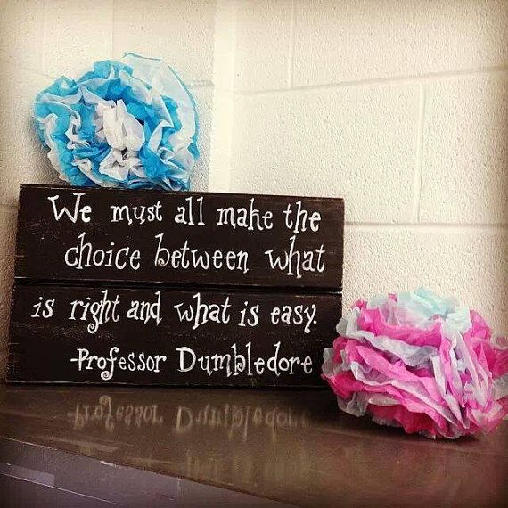 Harry Potter Classroom Sign by GabbIzzyFlips on Etsy, $20.00