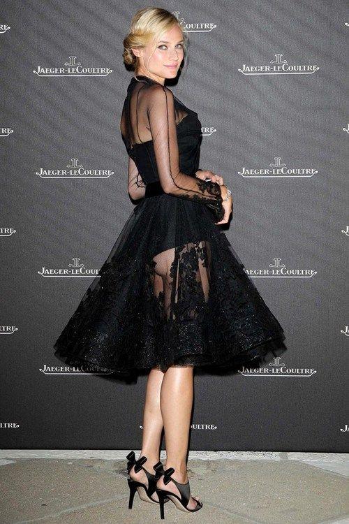 Diane Kruger in Dior at the 2008 Venice Film Festival