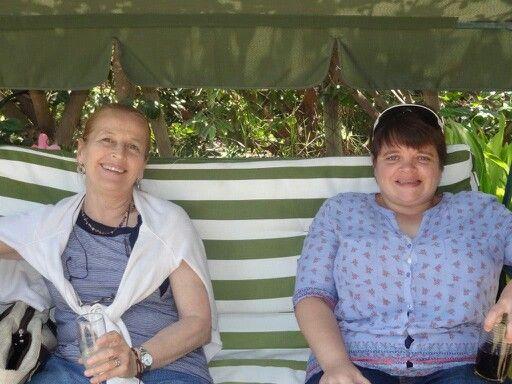 Mi mamá y yo.