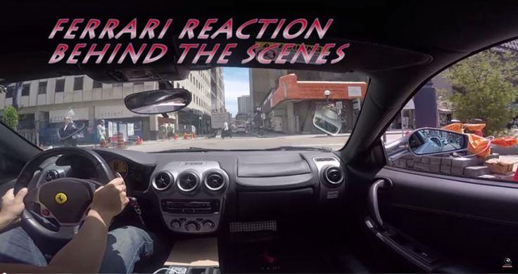 #Ferrari #Reaction:  Behind the Scenes in the Epic #Lamborghini Mustang https://youtu.be/DatYD680_NU  via