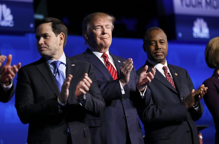GOP candidates tangle with one another — and CNBC — in a chaotic debate