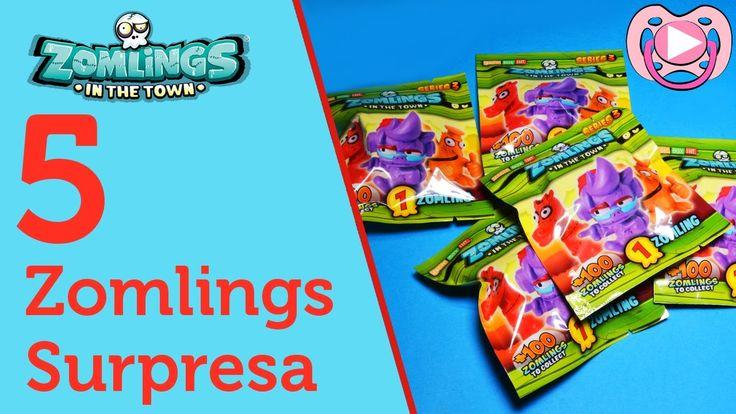 Surprise Zomlings - opening 5 series 3 zomlings