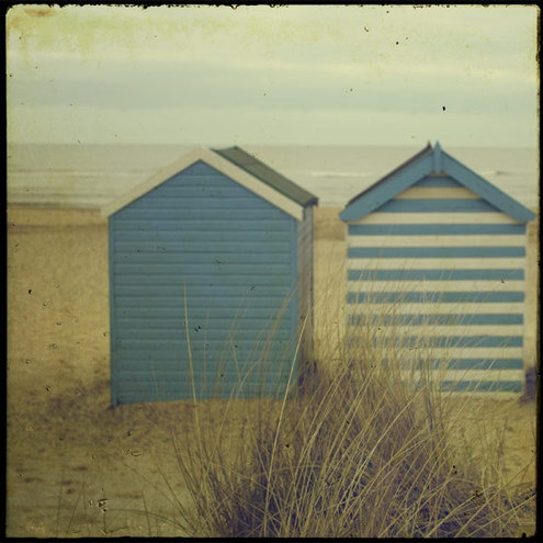 Coastal Living ⚓ English Seaside Beach Huts Recommended by http://www.londonlocks.com/ London Locksmiths.