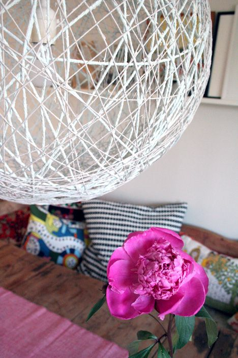 Tutorial: whirl it lampshade #lighting #home_decor #diy #crafts
