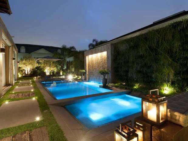 Integra o da piscina com a casa pesquisa google for Projeto x piscina