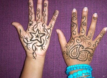 kid eid mehndi designs