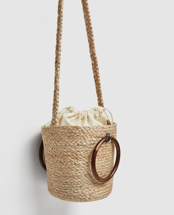 b19dfbc5662 Image 7 of TOTE WITH WOODEN HANDLES from Zara   Accessories ...