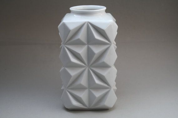 Funky Op Art vase made in the 1960s by Schumann por RetroMinded, €95.00