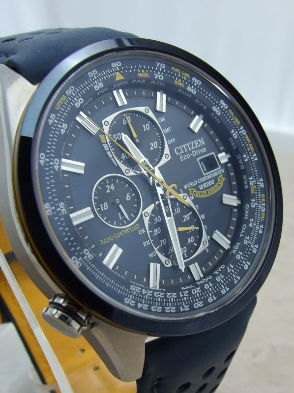 Citizen Blue Angels World Chronograph A-T Review