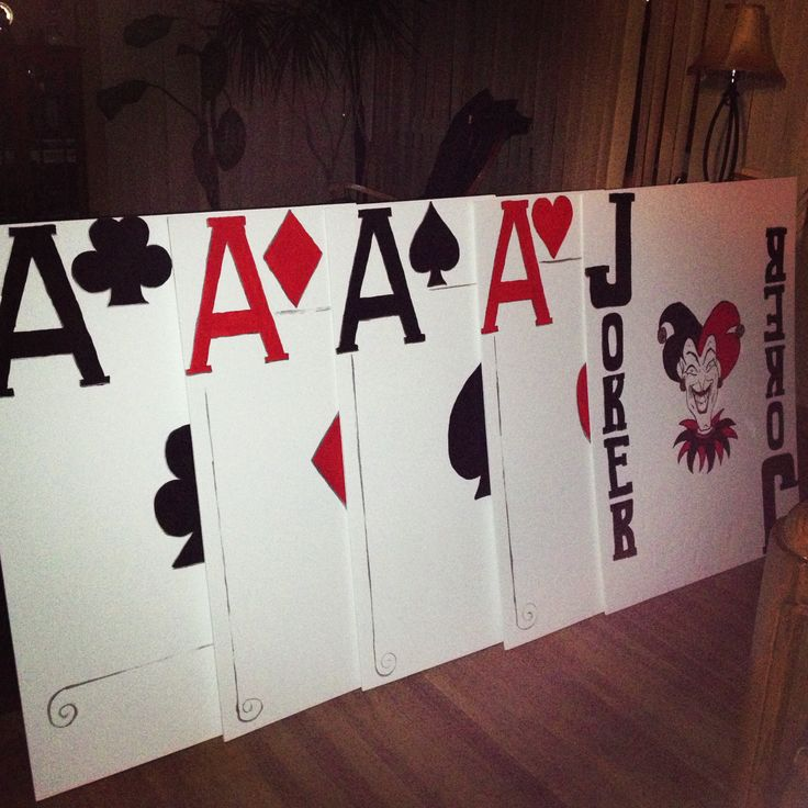 Life size Playing Cards   My Crafts   Personalized playing ...