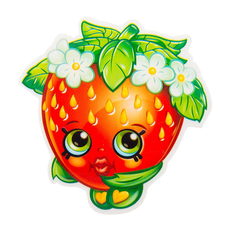 Shopkins strawberry kiss giant eraser gift ideas for Strawberry kiss shopkins coloring page