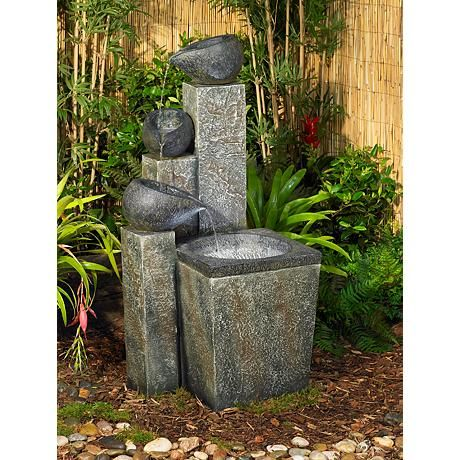 Asian Garden Fountain 17