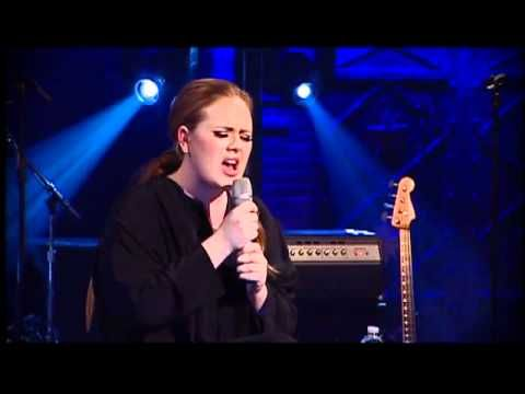 MTV Canada - Adele performed - First part is Someone Like you but if you want go to around 6:47 and watch the surprise they had for her.