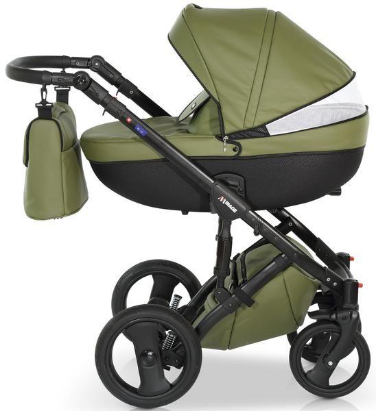 green pushchair travel system