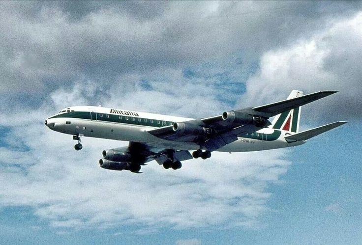 Alitalia DC-8 I-DIWI 1976