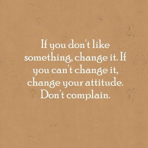 Instead Of Complaining Quotes. QuotesGram