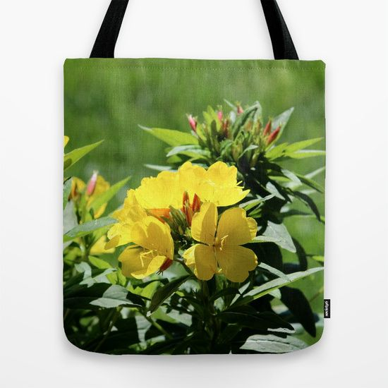 'What's Up Buttercup?' tote bag by LLL Creations.  This design is available in many different products.    #society6 #society6_products #LLLCreations #buttercups #totebags
