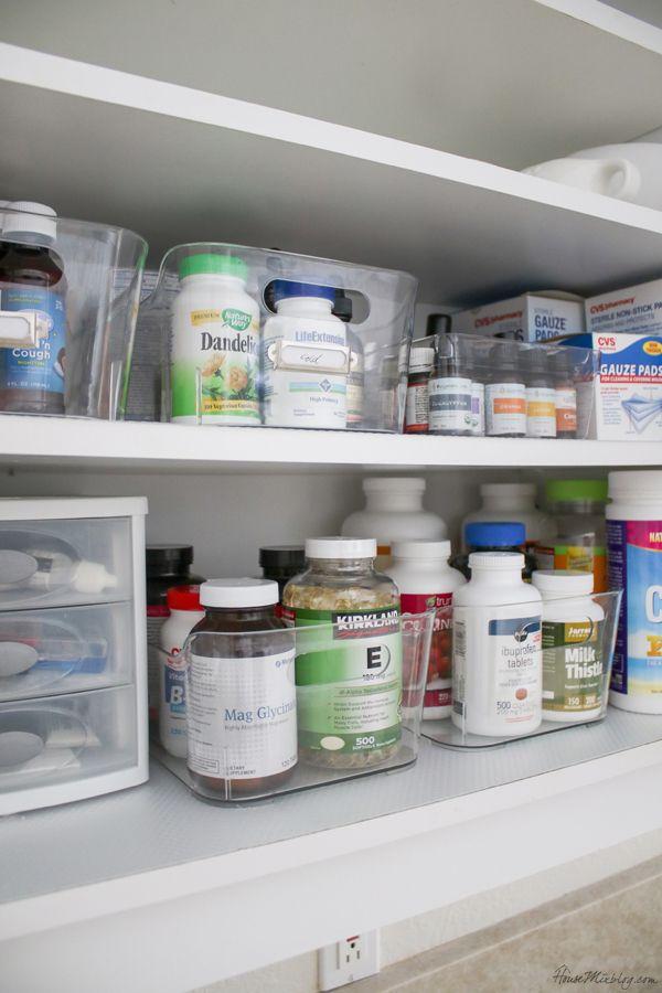 Kitchen Organization Ideas And Minimalist Checklist Medicine
