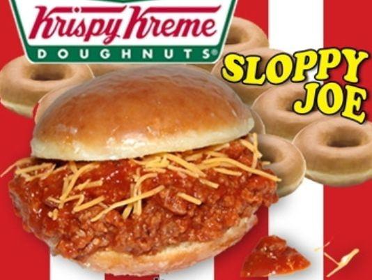 krispy kreme sloppy joe would you try it